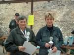 2006/10410/siegerehrung---vl-gisela-lorenz-und Siegerehrung - (v.l.) Gisela Lorenz und Annette Rambow vom SV Laucha - 2. und 1. Platz KK lang Damen - 22.04.2006