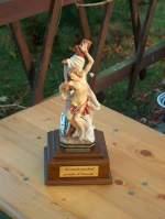 2008/8002/der-pokal-des-heiligen-sebastian-- Der Pokal des heiligen Sebastian - des Schutzpatrons der Jäger und Schützen - gestiftet von Mario Dönecke - 26.10.2008
