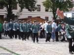 1908---festakt-usw/8446/die-lauchaer-schuetzen-marschieren-ein-zum Die Lauchaer Schützen marschieren ein zum Festakt - 19.08.2007