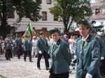 1908---festakt-usw/8447/die-lauchaer-schuetzen-marschieren-auf-zur Die Lauchaer Schützen marschieren auf zur Proklamation der Schützenkönige 2007 - 19.08.2007