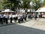 1708---festakt-usw/7188/einmarsch-der-schuetzen-und-gaeste-zum Einmarsch der Schützen und Gäste zum Festakt auf dem markt - 17.08.2008