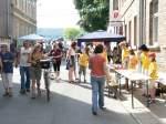 1508--mittelaltermarkt/30786/die-hortkinder-mit-bastelarbeiten-und-getoepfertem Die Hortkinder mit Bastelarbeiten und Getöpfertem zum Markttreiben - 15.08.2009
