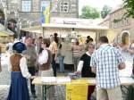 1508--mittelaltermarkt/30801/mittelaltermarkt---am-stand-des-heimatvereins Mittelaltermarkt - Am Stand des Heimatvereins erhält man Broschüren und Kalender über Laucha - 15.08.2009