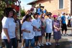 1608--schubkarrenrennen/30768/siegerehrung---2-platz---die Siegerehrung - 2. Platz - die jugendlichen Damen des Heimatvereins - 16.08.2009