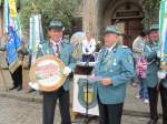 1508---so/88869/ehrung-des-schuetzenkoenigs-2010-ralf-schlegel Ehrung des Schützenkönigs 2010 Ralf Schlegel mit der Königsscheibe - 15.08.2010
