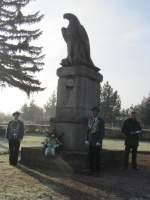 2011/167475/buergermeister-michael-bilstein-bei-seiner-ansprache Bürgermeister Michael Bilstein bei seiner Ansprache vor dem Adler-Denkmal - 13.11.2011